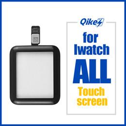 Toptan satış Elma İzle iWatch Serisi 1 2 3 4 5 Ön Dokunmatik Ekran Sayısallaştırıcı Cam 32 38 40 44mm için
