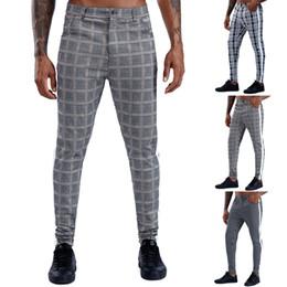Pantalones A Cuadros Hombres Oferta Online Dhgate Com