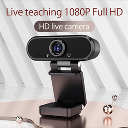 home camera hd NZ - 1080P HD Webcam Web Camera Built-in Microphone Auto Focus 90 ° Angle Of View Webcam Full Hd 1080p Camara Web home security 2020