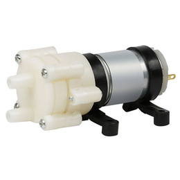 12v dc watering pump UK - 12V R385 DC Aquarium Pump Water Diaphragm Motor Pond Fountain Mini Air Pump