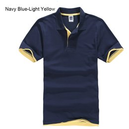 plus size polo shirts for men UK - URSPORTTECH Men's Polo Shirt For Men Desiger Polos Men Cotton Short Sleeve shirt Clothes jerseys golftennis Plus Size XS- XXXL