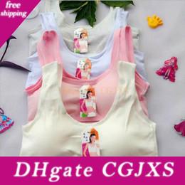 Wholesale bras for children for sale - Group buy Teenage Girl Underwear Solid Bras For Girls Training Bra Wireless Breathable Child Bras Soft Cotton Girls Bra Teenage Underwear