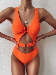mini micro swimwear women NZ - orange bathing suits Two Pieces Swimsuit Micro Bikini Woman Swimwear Bandage Maillot De Bain