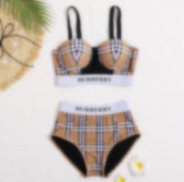 Wholesale tankini s for sale – plus size 2020 Printing Swimwear Designer Women One Piece Swimsuit Girls Bathing Suits Letter Beach Tankini Summer Bikini Y9968