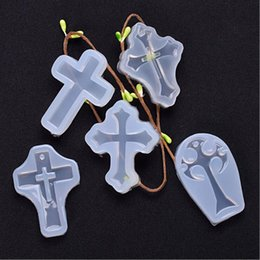 Cross charms pendant Silicone Mold Resin Silicone Cake Mould craft tool DIY epoxy resin molds