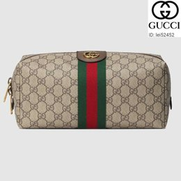 Wholesale zipper tie long resale online – lei52452 XOID classic GG toiletry case MEN REAL LEATHER LONG WALLET CHAIN WALLETS COMPACT PURSE CLUTCHES EVENING KEY CARD HOLDERS