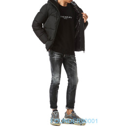 Wholesale high pockets jackets resale online – Fashion new winter down jacket High quality men s short down jacket white duck down Size xs xl