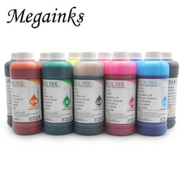 large for printer UK - 500ML  Bottle Waterproof Pigment Ink for DX2 DX4 DX5 DX6 DX7 Printhead Related Large Format Inkjet Printers Black MBK Ink Kits