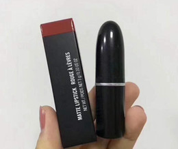 Wholesale lips colours for sale - Group buy Free Gift New Matte Lipstick ROUGE LIP COLOUR different colors