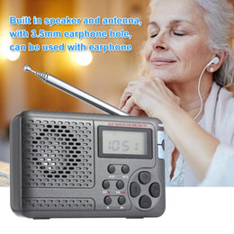 internet radio stereo NZ - portable Full Radio Digital Demodulator FM AM SW LW Stereo Radio Portable Internet LED Display Speakers NEW Gift