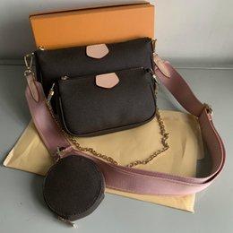 2pcs набор классической конструктора WOMENS сумочек цветок дама композитный тотализатор PU кожа сцепление плеча сумка женского кошелька с кошельком # 68 на Распродаже