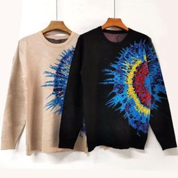 Wholesale man new style sweater online – oversize New Mens Sweaters Men Women High Quality letter print Round Neck Long Sleeve Sweater Mens Casual Sweatshirt Size XL XL