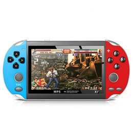 video games consoles Canada - Cgjxs 4 .3 Inch Tft Screenhandheld Retro Game Console 8gb Memory Portable Video Game Player Mp3 Tf Card Handheld Game Players 611 #2 T191001