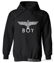 Wholesale red boy london sweatshirt online – oversize New Punk Style London Boy Hawks Printed Hoodies Men Full Sleeve Sweatshirts Autumn Winter Fashion Male Rock Hip Hop Pullovers Hot