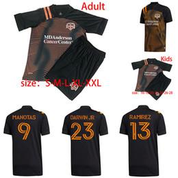 Wholesale shirts more for sale – custom MLS Houston Dynamo soccer jersey home away adult DARWIN JR MANOTAS football shirts ELIS RAMIREZ kids kit More DHL