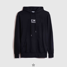 19SS Damaged Letters Printed Fashion Hoodie Men Women Winter Street Sweatshirt Street Made In Portugal Pullovers Out Wear Hooded S-2XL