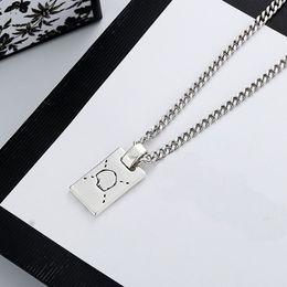 Großhandel Neue lange Halskette Mode Charm Halskette Top Qualität Versilberte Halskette für Unisex Modeschmuckversorgung