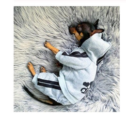 Wholesale male sweatshirts for sale – custom Pet Clothes French Bulldog Puppy Dog Costume Pet Jumpsuit Chihuahua Pug Pets Dogs Clothing for Small Medium Dogs Puppy Outfit