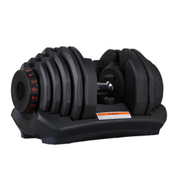 Wholesale Adjustable Dumbbell 5-40kg Fitness Workouts Dumbbells Weights Build Your Muscles Sports Fitness Supplies Equipment ZZA2471 Sea Shipping