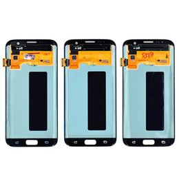 s7 touch screen UK - Cgjxs Oem Lcd Touch Panel Screen Digitizer Replacement For Samsung Galaxy S7 Edge G935 G935a G935v G935p G935t G935f Lcd Display With Frame