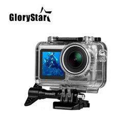 action camera for diving Australia - GloryStar High Quality Waterproof Underwater Protective Case Diving Housing Box For DJI Osmo Action Sport Camera Accessory