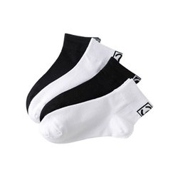 Wholesale Women Letter Print Cotton Socks Black White Casual Socks Gift for Love Girlfriend High Quality Wholesale Price