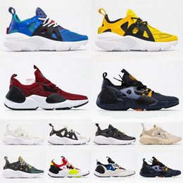 cheaper running shoes UK - New Cheaper Huarache 3 4 City Move 2020 Running Shoes Men Women Triple White Black Trainer Sneakers Size 36-45 Free Shipping