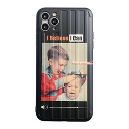 Wholesale boy dirt online – design Luggage Case Fashion Brand Phone Case for iPhone Lovely Haircut Boy Plus Luxury Phone Case iPhone XR Protect Cover