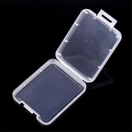 Дробление Контейнер пластиковый ящик Защитный футляр карты памяти карты Boxs CF карты Инструмент Пластиковый прозрачный для хранения восковых сухой травы Freeshipping на Распродаже