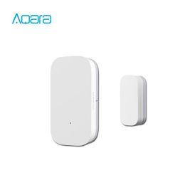 Aqara Door Window Sensor Zigbee Wireless Connection Smart Mini door sensor Work With APP Mi Home For Xiaomi mijia smart home on Sale