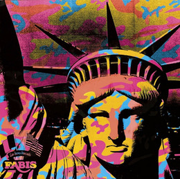 Wholesale live statues for sale - Group buy Andy Warhol Art Works statue of Liberty Wall Decor Oil Painting On Canvas Home Decoration Wall Art Canvas Pictures For Living Room