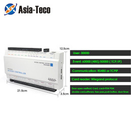 Wholesale Four Door Network Access Control Panel Board With Software Communication Protocol TCP IP Board Wiegand Reader for Door Use