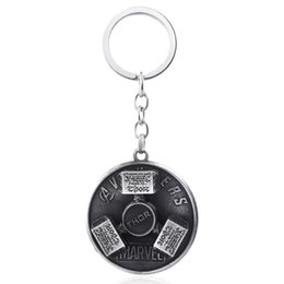 classic alloy NZ - Fashion Jewelry Rotary Explosion Type Hammer Keychain Thor Alloy Hammer Pendant Jewelry For Men Women Car Keyring