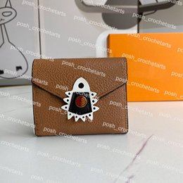 Wholesale leather for crafts resale online - Craft Style Designer Small Wallet for Women s Luxury Small Leather Goods Mini Purse for Cards Designer Wallet Comes with Box Crafting