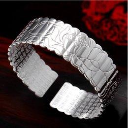 Peaceable Kingdom par Verre Cabochon Tibet Silver Bangle Bracelets Wholesale