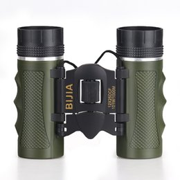 telescope professional NZ - Bijia 12x25 Mini Day Light Telescope Professional Binocular Outdoor Travel Folding Binoculars Living Waterproof T190627