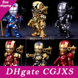 high puppets Australia - Iron Man Alloy Metal Doll 15cm High Quality Model Toys Collection Decoration Iron Man Best Gifts For Kids Toys