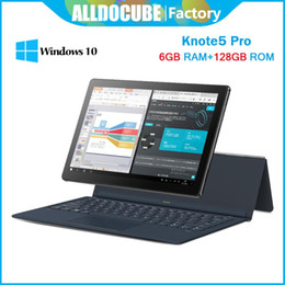 windows pro tablet pc Australia - ALLDOCUBE Knote 5 Pro 11.6 inch 6GB Ram128GB Rom Windows 10 Intel Gemini Lake N4000 Tablet PC 6GB RAM 128GB ROM FHD1920*1080