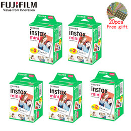 10-200 sheets instax mini 11 9 film white Edge 3 Inch wide film for Instant Camera mini 8 7s 25 50s 90 Photo paper on Sale