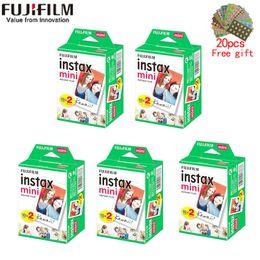 10-200 feuilles Instax Mini 11 9 films bord blanc 3 pouces film large pour appareil Mini Instantané 8 7s 25 50 90 Papier photo en Solde