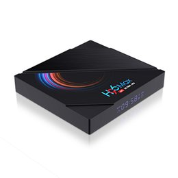 Wholesale H96 Max H616 Android 10 TV Box 4GB 32GB Allwinner 2.4G 5G WiFi Bluetooth 6K Set Top Box vs TX6S T95 T95H