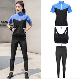 body fitness suit Canada - Women's Sauna Suit Body Toning Clothing Fat Burner Sweatshirt Short Long Sleeve Half Zip Fitness Slimming Exercise GYM Suits