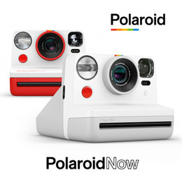 Film Cameras The Spot Polaroid Pograph Now Of Rider's Rainbow Camera For Once Imaging In Black And White on Sale