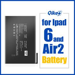 qikes Tablet batteria per Apple iPad 2 6 Aria A1566 A1567 A1547 la sostituzione della batteria 7340mAh ad alta capacità Bateria in Offerta