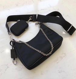 Toptan satış Kadınların Göğüs paketi bayan Bez zincirleri çanta presbiyopik çanta messenger çanta handbags'in tuval A için kadınlar omuz çanta için toptan tuval hobo