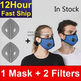 exhalation valve mask Canada - Fast Ship ! Unisex Fashion Reusable Reusable Valve Face Blue Exhalation With PM Cycling Filter Double Mouth Cover Mask 2.5 Anti-fog Laxdc