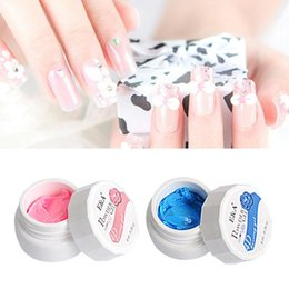 color 3d painting NZ - 3D Solid Color Long Lasting Painting Drawing Gel DIY Nail Art Varnish Lacquer