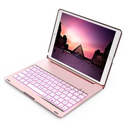 apple wireless keyboard ipad UK - Wireless Keyboard Case Bluetooth 3 .0 For Ipad Pro 10 .5 Inch Tablet Pc With Backlight Colorful Led Flip Backlit