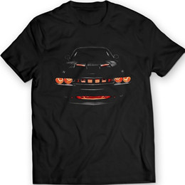 muscle cars NZ - 2018 New Fashion Cotton T-Shirt American Car Challenger R T Muscle Car Auto Racings Car T-Shirt 100% Cotton Casual Tee Shirt
