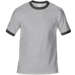 Wholesale t shirts blanks for sale – custom 100 cotton Blank T Shirt Men T Shirt Short Sleeve Tshirts Solid Homme Tee Shirt Hot Sale Summer Clothes europe size XS XXL
